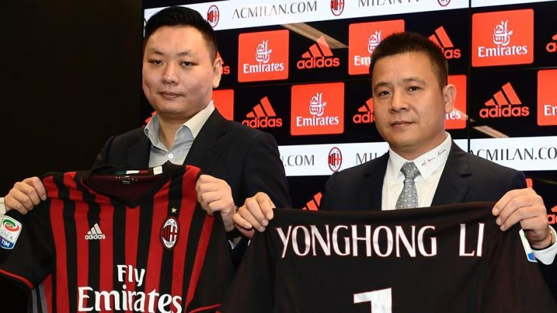 Trouble Brews For AC Milan's Chinese Owner - AsiaSponsorshipNews ...