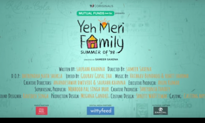 The Association of Mutual Funds of India (AMFI) partnered with The Viral Fever (TVF) for the seven-episode web series Yeh Meri Family.