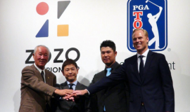 Japan is finally hosting a PGA Tour tournament after sealing a six-year title sponsorship deal with Japanese online fashion retailer Zozotown.