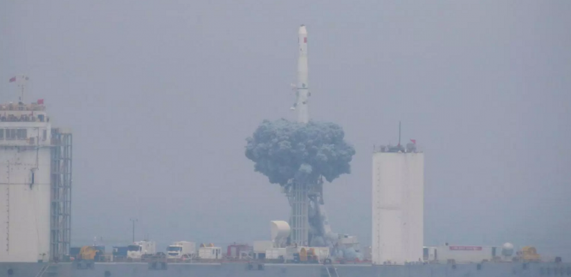 Chinese automobile Rocket Launches