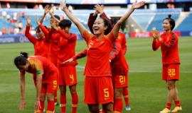 China Women's Football Alipay