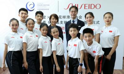 Shiseido China Sports Sponsorships