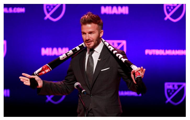 Beckham Inter Miami Qatar
