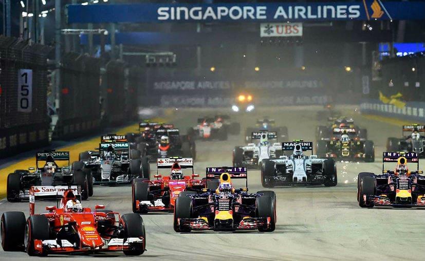 SIA singapore GP extends
